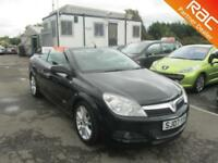 2007 Vauxhall Astra Twintop 2Dr 1.8 16V 140 Design Petrol black Manual