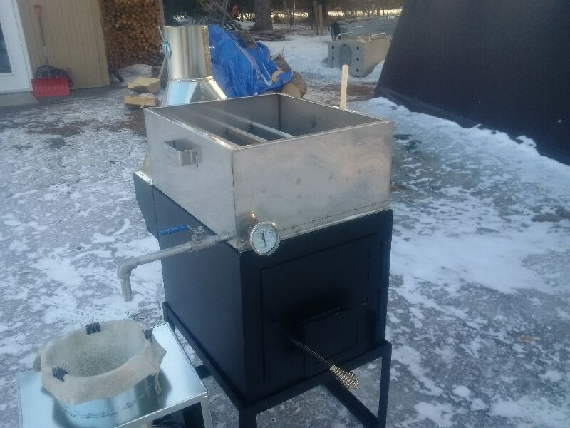 Maple Syrup Evaporator Pans And Wood Stoves Other