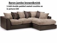 Byron jumbo cord**Brand New**EXPRESS DELIVERY**MADE IN UK