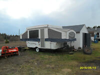2009 Tent Trailer   Real Lite 10 02 Model