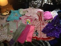 A huge lot of baby clothing and accessories