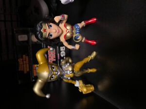 Harley Quinn & Wonder Woman Diecast Collector Action Figures $20