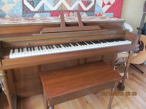 Appartment size piano