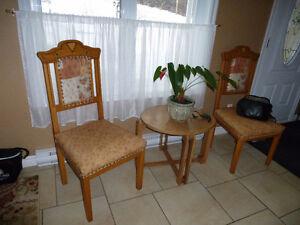 Ensemble Causeuse & 2 chaises de boudoir antique Saguenay Saguenay-Lac-Saint-Jean image 2