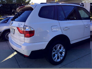 2009 BMW X3 White SUV, Crossover