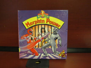 Power Rangers Morphin Power Pop Up Book 1994 Mighty Morphin