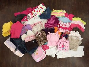 Assorted 6-12 month girl clothing