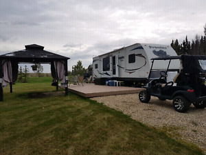 Rv lot at Trestle Creek Rv and Golf resort