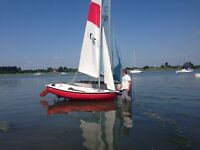 12 foot sailing dinghy