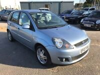 Ford Fiesta 1.4 Ghia 1 Owner full Service History Leather Air Con Alloys Auto Light 3 Month Warranty