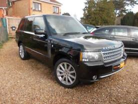 2010 Land Rover Range Rover 5.0 V8 Supercharged auto Autobiography top spec