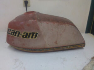 1977 can am 250 qualifier gas tank