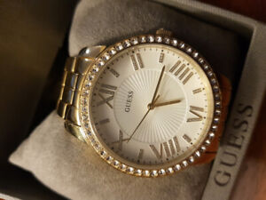 Guess Goldtone Watch