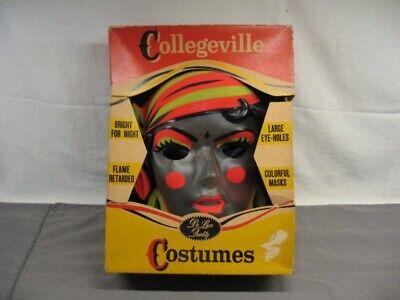 Vintage Collegeville Gypsy Adult Halloween Costume Med (38-40) Orig Box