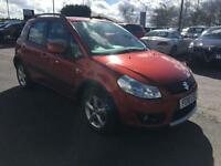 2010 Suzuki SX4 1.6 DDiS 5dr Diesel orange Manual