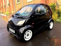 **PART EX TO CLEAR** 2004 SMART FORTWO 50 SEMI-AUTO BLACK WHITE 0.7 PETROL