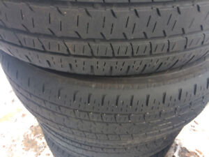 Bridgestone all-season tires, set of 4