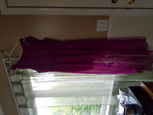 Purple high low dress from forever 21