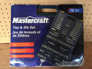 Brand New Tap & Die Set, 76 pices