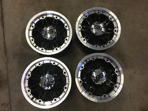 "4 x Atv or Utv SS 12"" Rims Wheels 4 / 156 Polaris"
