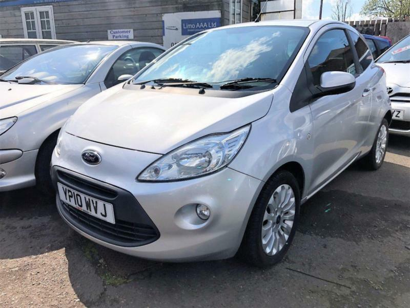 Ford Ka Zetec  Petrol Manual In Silver