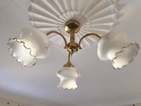 Vintage style ceiling light fittings