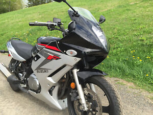 2008 Susuki GS500F  ecellent condition (lowered)