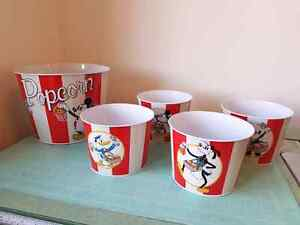 Ensemble 5 pots Walt Disney