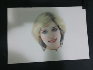 Original portrait princess Diana - $60