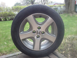"4x Honda Civic Si Enkei ""5-Spoke"" Mags (4X100mm)"