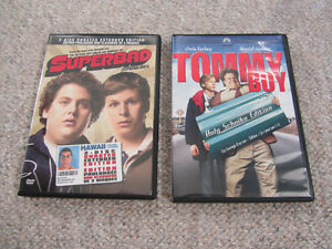 2-Disc DVD Movie Sets - Superbad & Tommy Boy London Ontario image 1