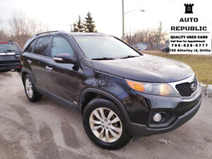 2013 Kia Sorento EX SUV, Loaded, AWD, Certified, Snow Tires