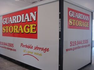 Portable storage containers - GUARDIAN STORAGE