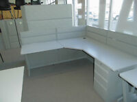 TEKNION TOS WORKSTATIONS, USED 6 X 6 EXCELLENT CONDITION