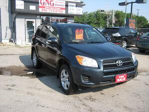 2010 TOYOTA RAV4 SUV  $ 8895 @ G N G MOTORS 1350 LOGAN AVE