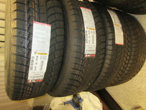 4 BRAND NEW GENERAL WINTER TIRES - INCLUDES 4 NEW RIMS $1,582.00