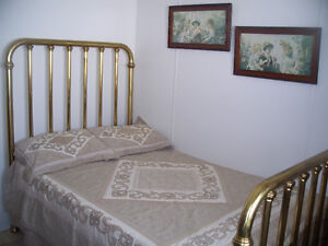 Antique Solid Brass Bed