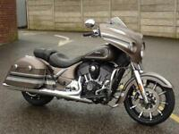 INDIAN CHIEFTAIN LIMITED BRONZE SMOKE WITH GRAPHICS 2018 MODEL