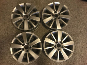 "Set of 4 16"" VW Wheels"