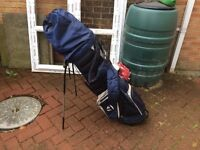 Golf clubs - Full beginners set and TaylorMade bag