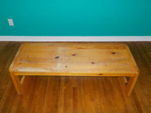 Lounge Wood Table in good shape probably just need a varnish