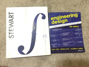 Engineering Design and James Stewart Calclus 7th edition