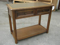 SKLAR-PEPPLER 2-Drawer Wooden Entryway Table
