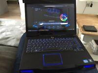 Alienware M14X Intel i7, 8GB RAM, 500GB HDD + upgraded 500GB SSD