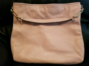 Pink/Peach Tone COACH Leather Purse