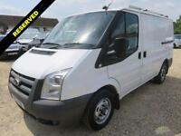 2009 09 FORD TRANSIT 2.2 TDCI T300 SWB LOW ROOF EX BT ONLY 55846 MILES DIESEL
