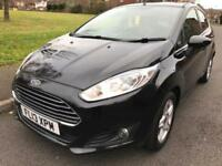 FORD FIESTA 1.5 TDCI DIESEL ZETEC 5 DOOR (2013) BLACK NEW SHAPE