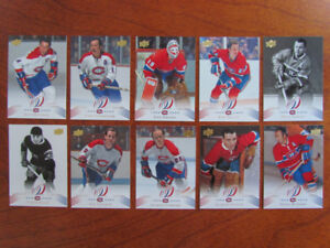 SERIE CARTE HOCKEY CENTENAIRE 1909-2009 CANADIENS MONTREAL ROY..