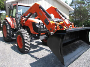 5 days special only 600 hrs Kubota M-108 loaded.