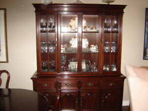 """""""Gibbard"""" Solid Mahogany Dining Room Suite"""